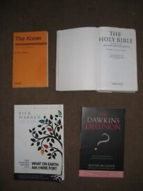 4 Faith and Belief Books Individually Priced: Please See Advert Description