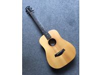 Baby Taylor 3/4 size guitar with matching gig bag