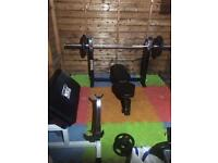 Olympic gym equipment