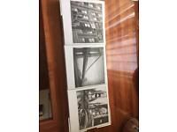 Brand new and sealed 3 x photo canvas of New York