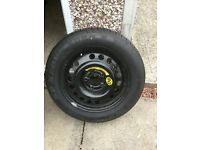 Brand new tyre on 5 stud rim