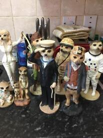 Meerkat ornaments