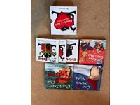 Selection of six festive kids books - as new