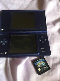 DSI with Pokemon black version 2