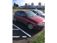 REDUCED for quick sale Renault megane Fiji spares or repairs