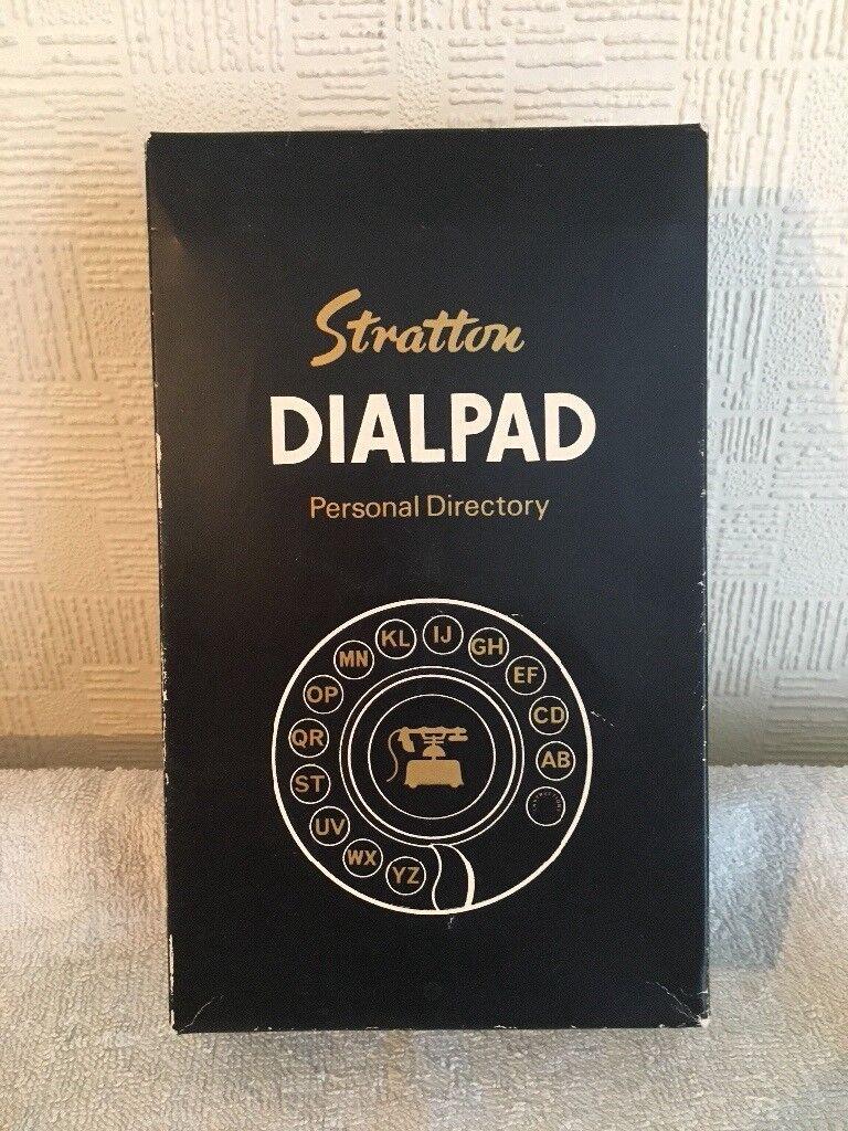 retro stratton silver dialpad personal directory in hackney