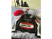 REPSOL JACKET worn once