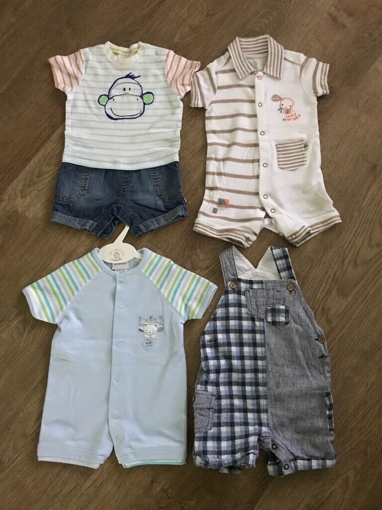 9e039bcb3 Bundle of baby boy's Summer rompers 3-6 mths | in Dundee | Gumtree