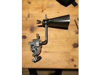 Cowbell andTama bass drum mount