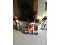 Imaginext interactive castle and figures
