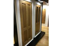 Super sale on A grade 4 panel oak doors