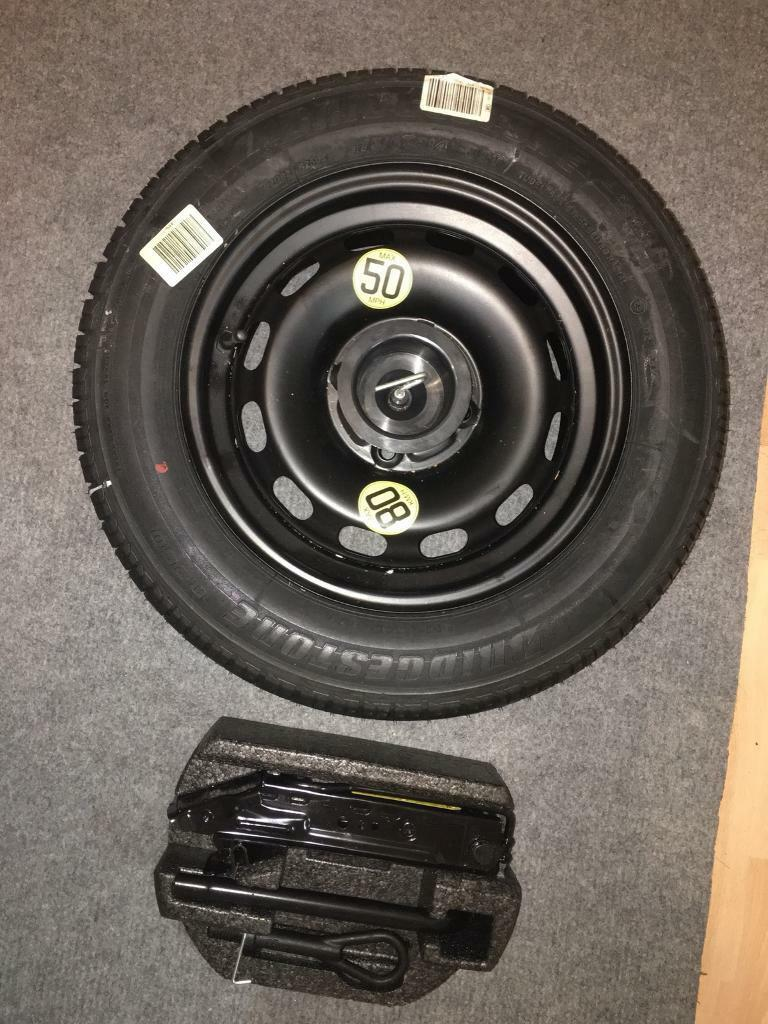 Ford fiesta full size spare wheel and tool kit