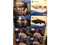 Brand new Sony PS4 500GB From £179 full warranty and receipt