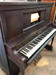 Piano Mécanique Antique Authentique 1920