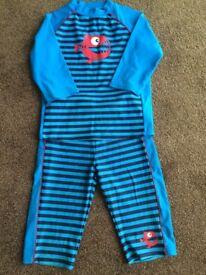 Unisex 2 piece sun/swimsuit Age 8+