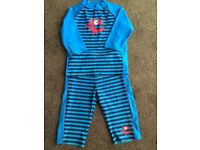 Unisex 2 piece sun/swimsuit Age 8+
