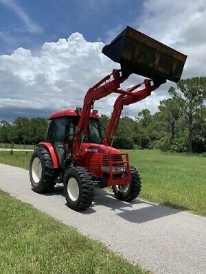 Branson 4wd 65hp Tractor Wcab And Loader