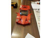 Lego 8652 Enzo Ferrari Rare Model 11 Inches Long