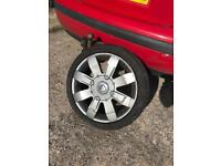 4 x 100 Alloy Wheel & 195 45 16 Tyre From Clio 172 / 182 / Cup
