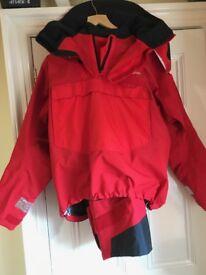 Quality heavy weather Henri Lloyd offshore sailing suit size large