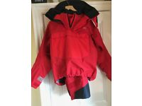 Quality heavy weather Henri Lloyd offshore sailing suit size large