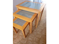 3 x Small Table Set