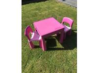 Next Lego/craft table & chairs