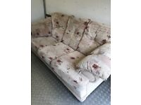 Lovely Patterned 3 Seater Sofa. Excellent Condition. Can Deliver.