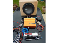 CAR AUDIO - SUB WOOFER- AND AMPS -SYSTEM- BOSS &EDGE