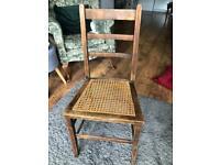 Small rattan chair