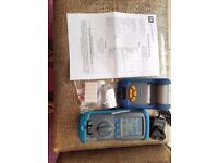 KANE 425 FLUE GAS ANALYSER COMPLETE WITH CALIBRATION CERTIFICATE 0CT 2018/CARRY CASE/PRINTER/