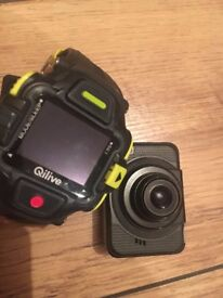 Qilive Q.2507 sport camera, without waterproof case, with tripod