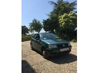 VW Polo 1 Litre, Dark Green (GREAT FIRST CAR)