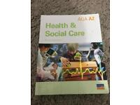 A2 AQA Health and Social Care by Richard Smithson