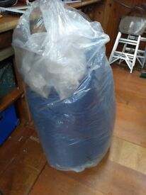 Double futon mattress good condition stored in PVC dust-proof bag