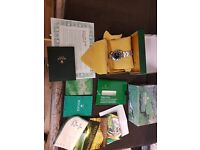 Rolex submariner watch * all paperwork & accessories * like gmt 14060 14060m sea dweller date day