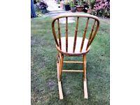 Old Oak Rocking Chair