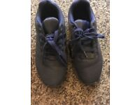 Blue Adidas men's trainers size 7
