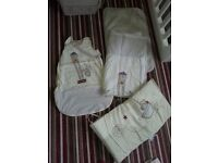 Mamas and Papas baby bedroom set Owl / light of the moon theme, collection Cw1