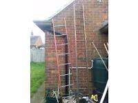 2 Metal ladders