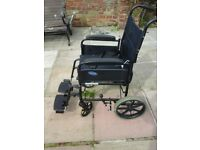 standard size wheelchair with brand new cushion
