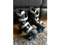 Quad roller skates size 5