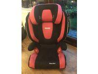 Recaro Monsanto nova isofix car seat,suitable 3 to 12 years.
