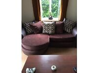 * 4 seater DFS sofa for sell pretty much brand new comes with cleaning kit 400 Ono pick up only*