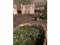 8x4 ft layout rolling stock and all illuminated buildings complete offers