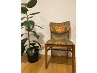 Four LEBUS LINK antique dining chairs