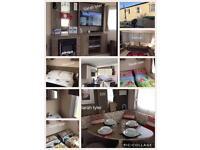 3 bed family, extra wide, modern caravan for hire treccobay, porthcawl
