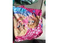 Girls frozen blanket