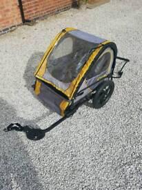 Double bike buggy