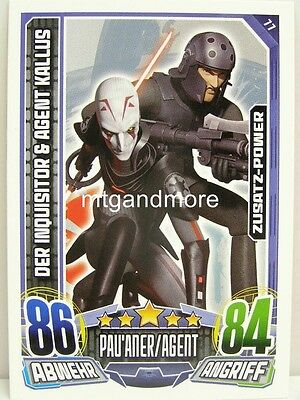 & Agent Kallus - Star Wars Rebel Attax (Star Wars Rebels Der Inquisitor)